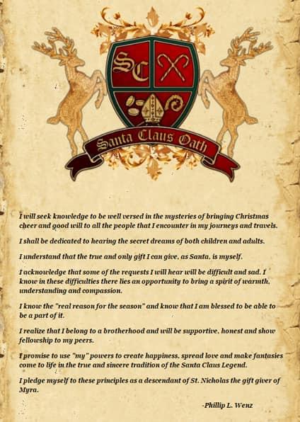 Santa Claus Oath